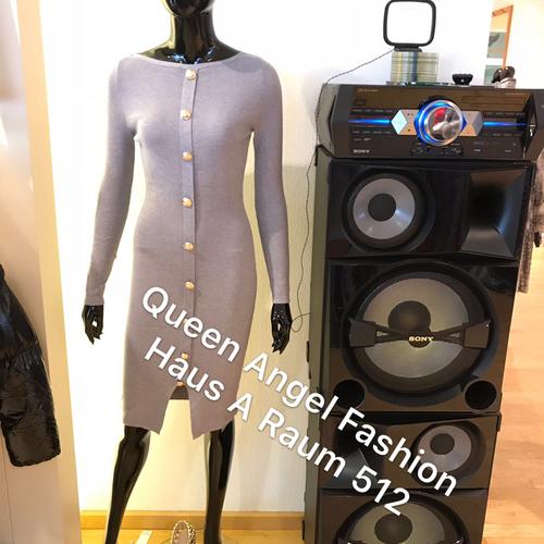 Abbildung: Violettes Bandage Kleid