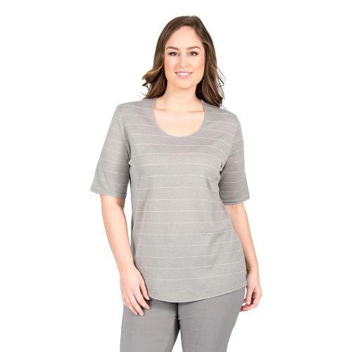 Abbildung: Pullover Lurex-Streifen ultra-light