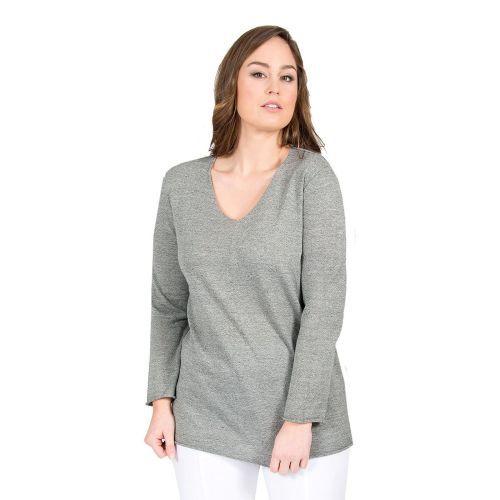 Abbildung: Pullover V-Neck ultra-light, Langarm