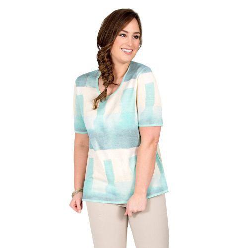Abbildung: Pullover Print, Kurzarm