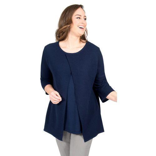 Abbildung: Pullover doppellagig