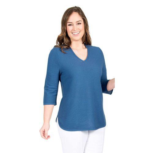 Abbildung: Pullover Sommer-Biese, V-Ausschnitt