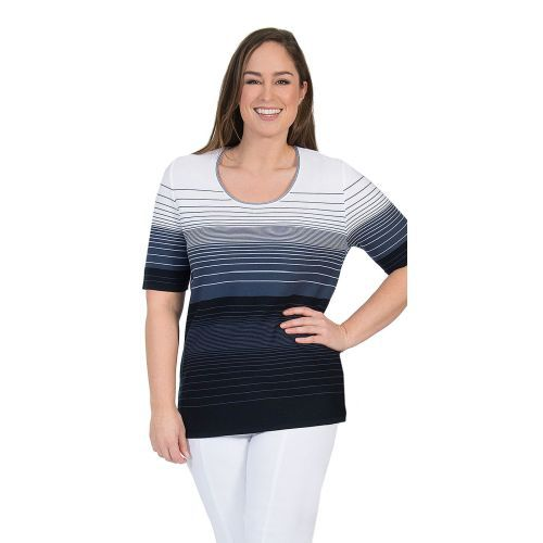 Abbildung: Pullover Farbverlauf Kurzarm