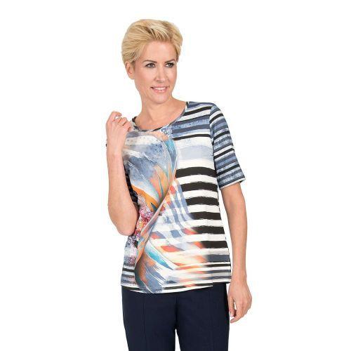 Abbildung: Jersey-Shirt Rundhals, Kurzarm